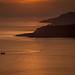 sunset on the islands by Jan Herremans