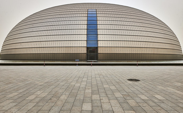 Beijing - National Centre For The Performing Arts - The Egg
