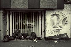 Twelve bags of Rubbish