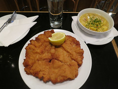 meal, curry, fried food, schnitzel, food, dish, cuisine,