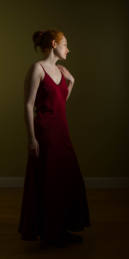 Sewing Faille: Self-Drafted Pattern: 1930\'s-Style Bias-Cut Silk ...