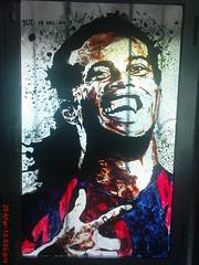 Ronaldinho glass paintwork