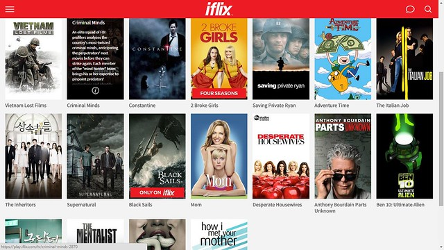 iflix on-demand video service