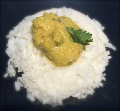 curry, steamed rice, food grain, rice, food, white rice, dish, cuisine, glutinous rice,