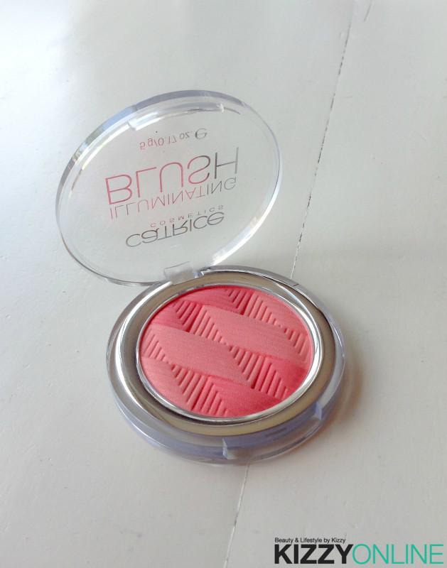 Catrice Cosmetics Illuminating Blush Coral Me Crazy