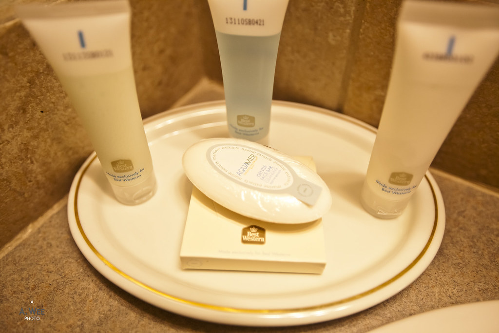 Amenity in the bathroom