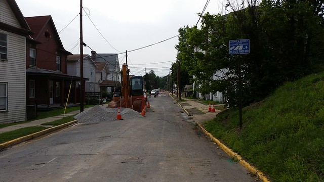 University Avenue Road Construction