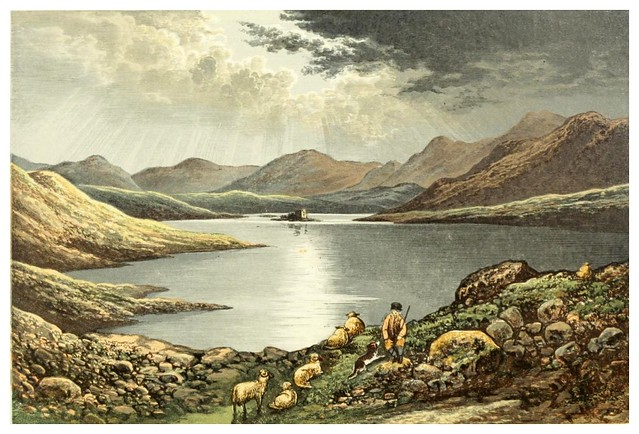 001-Lochmaben-Scottish loch scenery-1882-A.F. Lydon