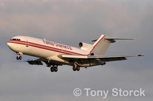 Aircraft (B722) silhouette