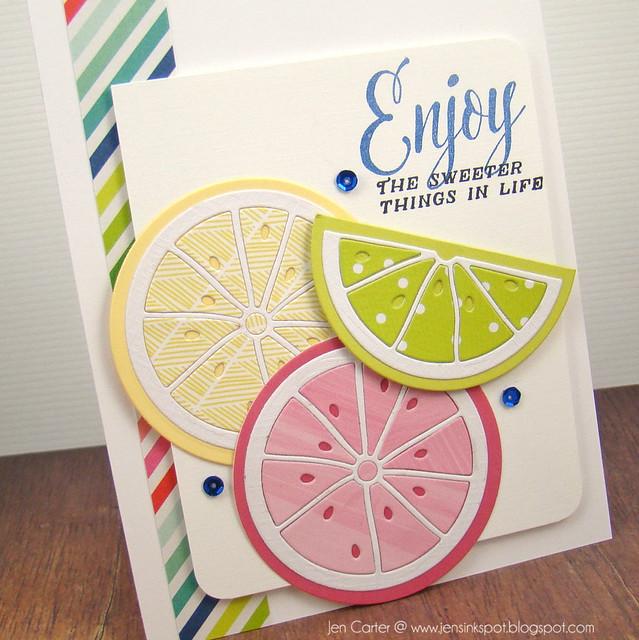 Jen Carter Fruit Sweeter Side Life Closeup