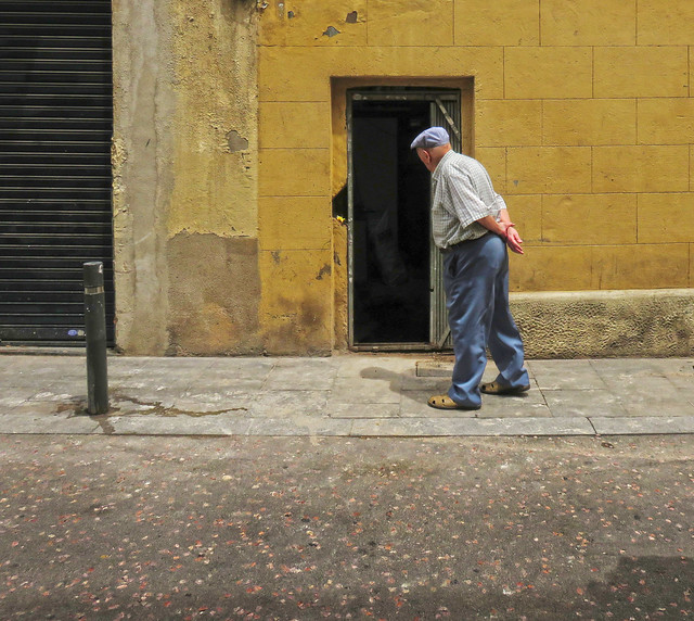 old man in Barcelona (2015)