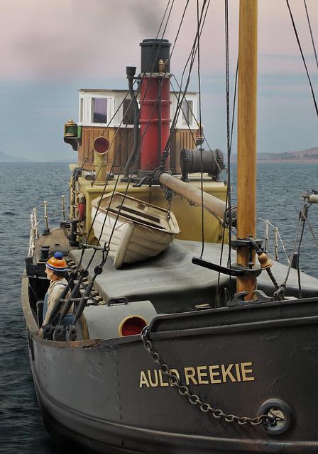 Puffer at sea