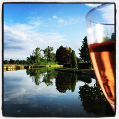That way tomorrow, but for this evening, it's the Rosé...