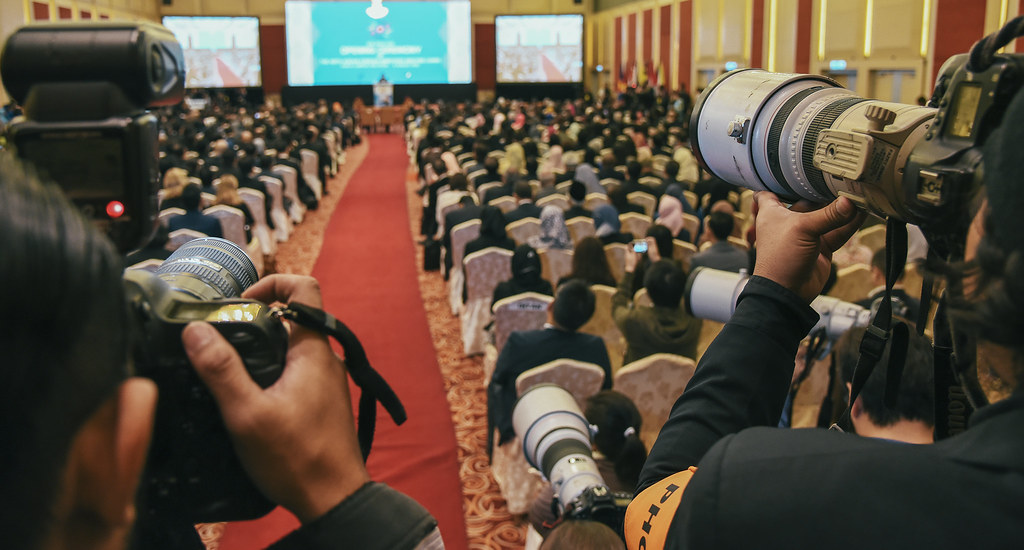 The Photographer | ASEAN 48th Foreign Minitser Meeting