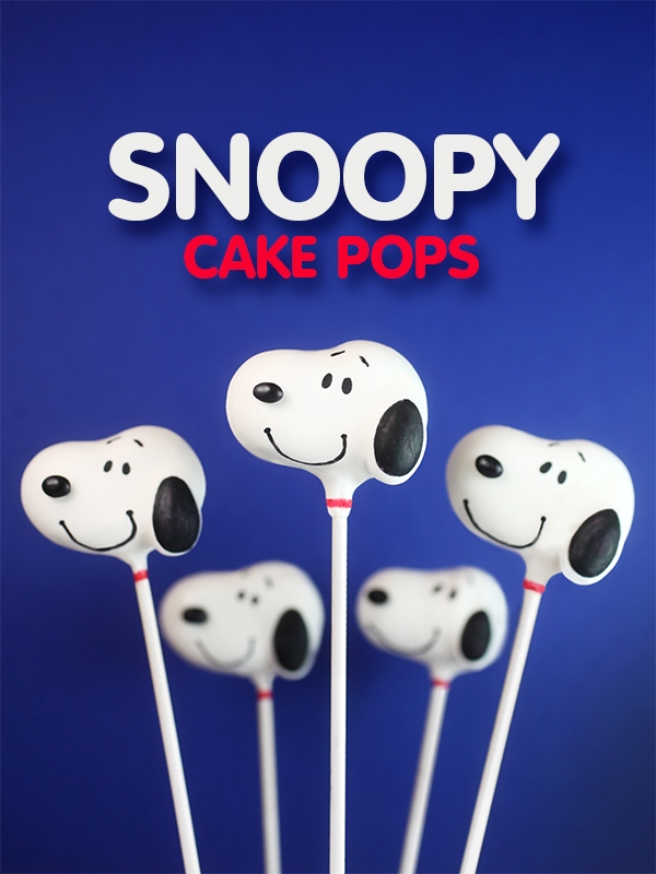 Happy Birthday Snoopy Cake Pops