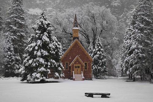 Christmas In Yosemite