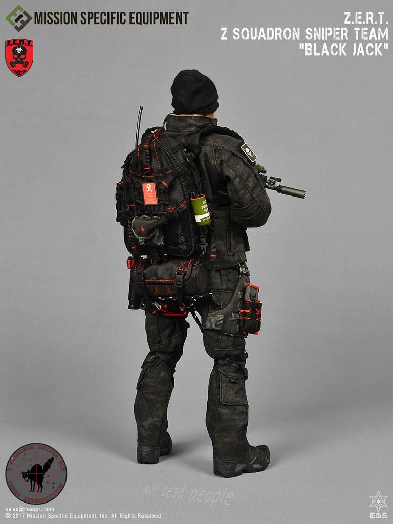 """真實存在於世上的「殭屍應對小組」Z.E.R.T Z中隊狙擊手「黑傑克」Zombie Eradication Response Team Z Squadron Sniper """"Black Jack"""""""