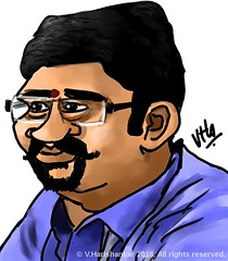 Caricature/cartoon of a colleague