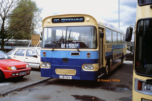 Goodwin, Stockport LIW 1324 (ex NTX 361R)