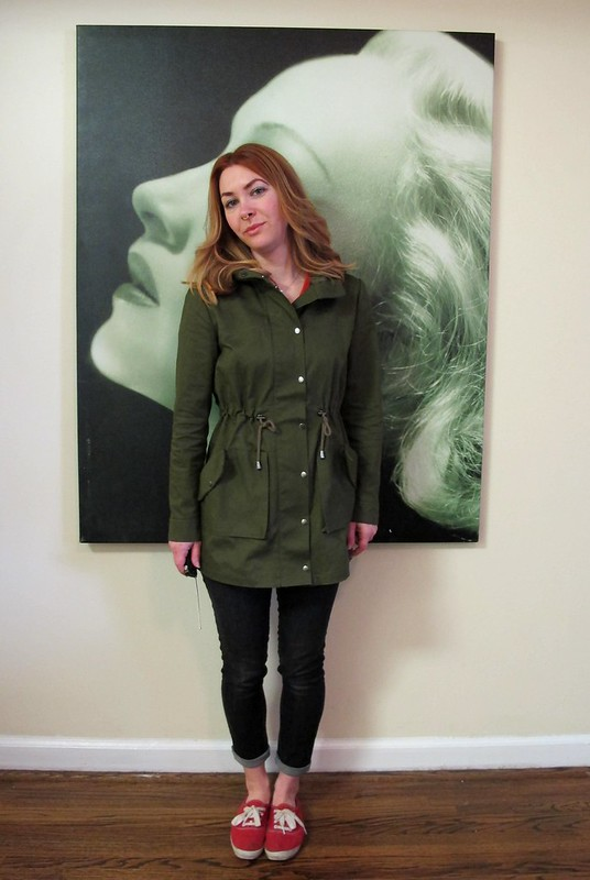 Kelly Anorak in Organic Cotton Twill from Mood Fabrics