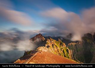 Portugal - Madeira - Pico do Arieiro under beautiful morning light