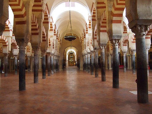 Córdoba Spain - Mezquita de Córdoba - Cathedral of Our Lady of the Assumption - Arches and Pillars.8