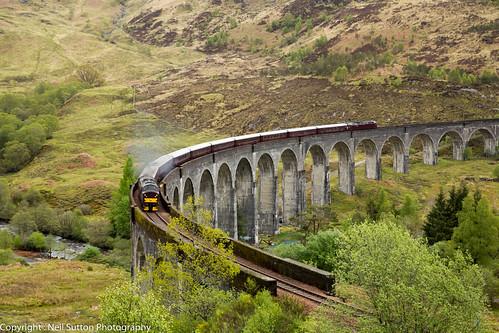 West Coast Railways 37516 - Glenfinnan Viaduct