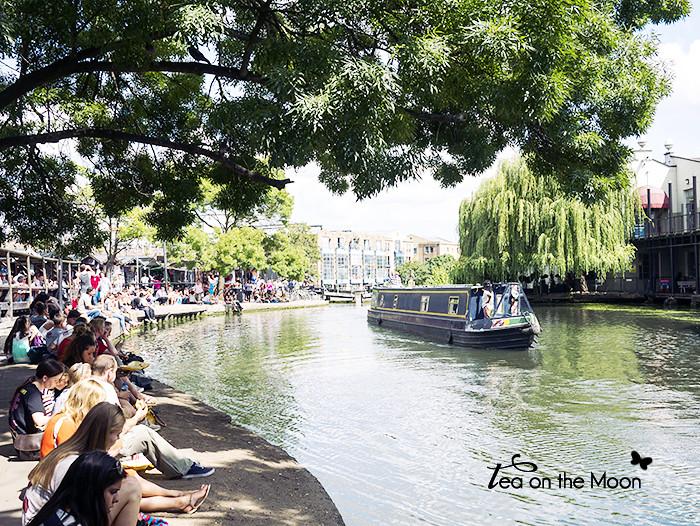 Regent's Canal, Camden market - Londres
