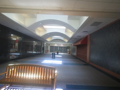 The Hallway to the Former Belk