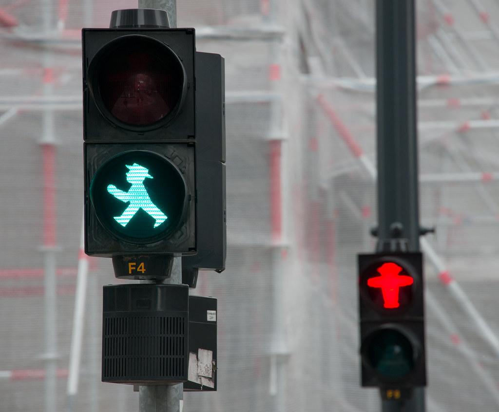Ampelmännchen Signals