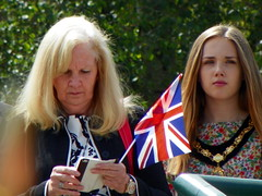 Royal Anglian Regiment Parade 044: Cllr Sharon Taylor and Shae Field