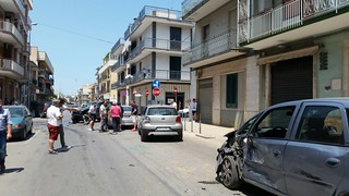 Conversano- incidente in via Flaviano angolo de Amicis (5)