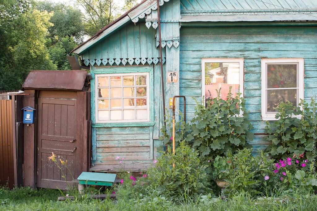 Дом на рву в Юрьеве-Польском
