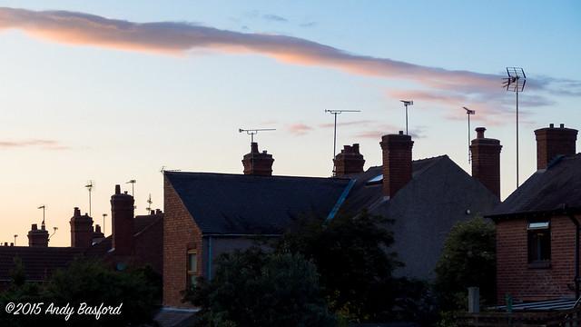 TV aerials - Ripley, Derbyshire