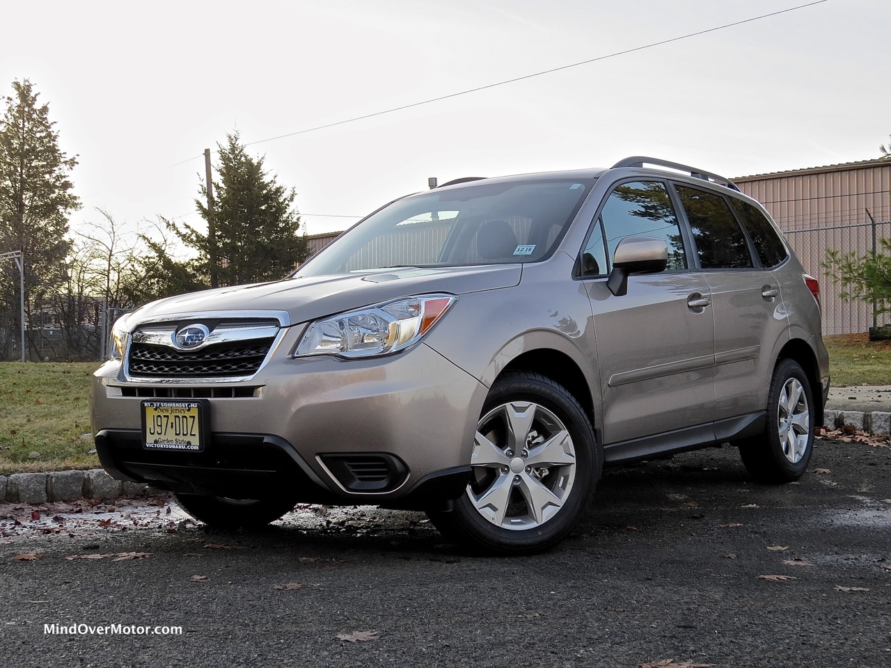 2015 Subaru Forester Front Angle