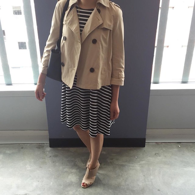 Forever 21 Cropped Trench, size S (review here)