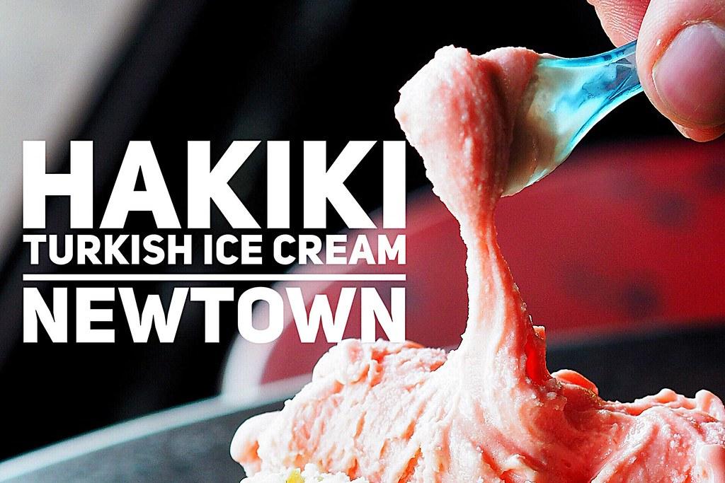 Hakiki Turkish Ice Cream, Newtown, Sydney Food Blog Review