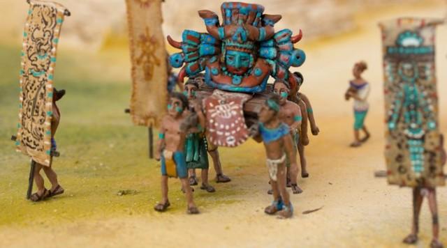Guerreros Tulum maqueta