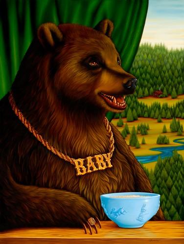 Baby Bear. Isabel Samaras.