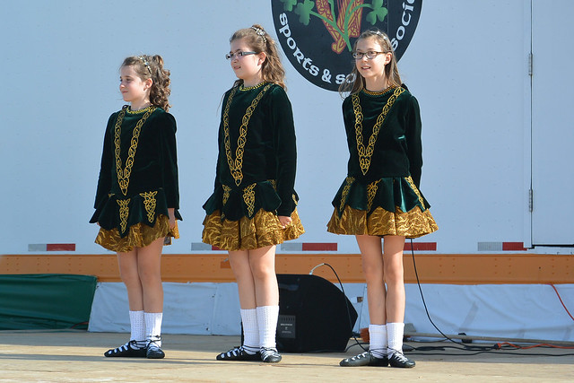 Little Irish Dancers At The Ready