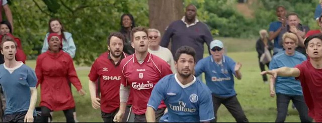 Sutton's Film Office attracts a big-budget Carlsberg football advertisement