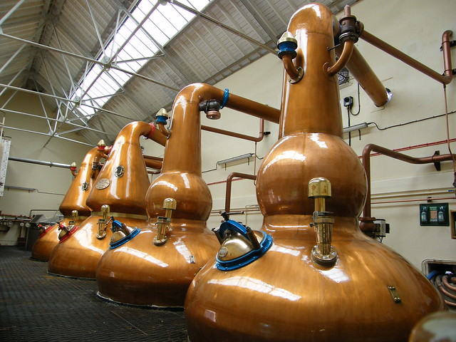 Knockando Distillery Stillhouse