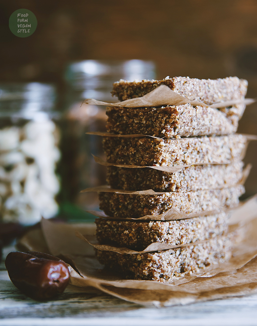 Vegan protein energy bars with lupine