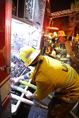 Early Morning Restaurant Fire in Beverly Grove