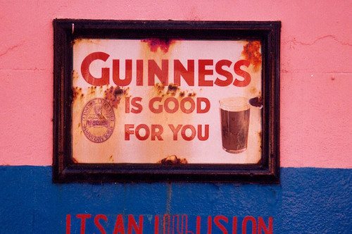 Guiness is good for you !