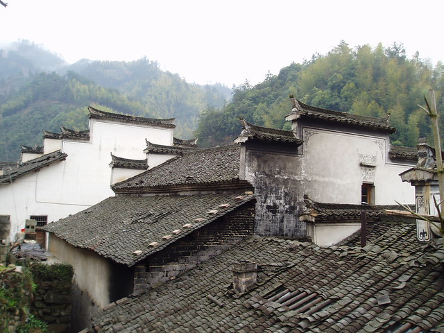 Village Rooves Near The Yellow Mountains Explore