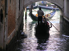 Entering the Grand Canal