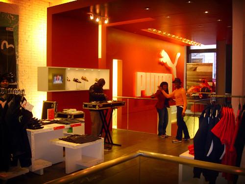 ... Puma Store in Soho 9efa7f677085