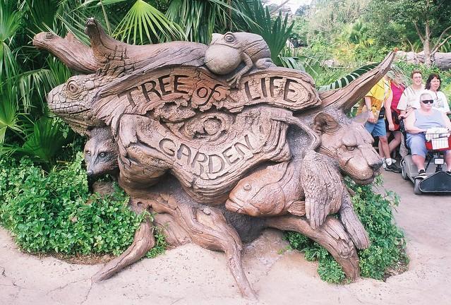 Tree of life garden sign flickr photo sharing
