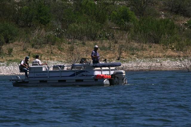 Bass fishing on amistad reservoir flickr photo sharing for Lake amistad fishing